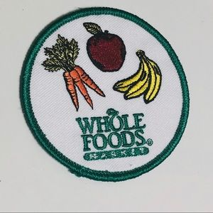 Whole Foods Market Embroidered Patch